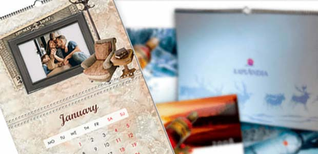 Personalized calendars with photo