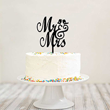 Couple Cake Topper
