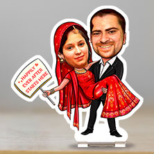Caricature Happily Married