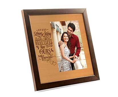 Love Story Photo Frame