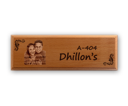 Wooden Name Plates