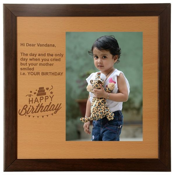 Photo Frame Happy Birthday