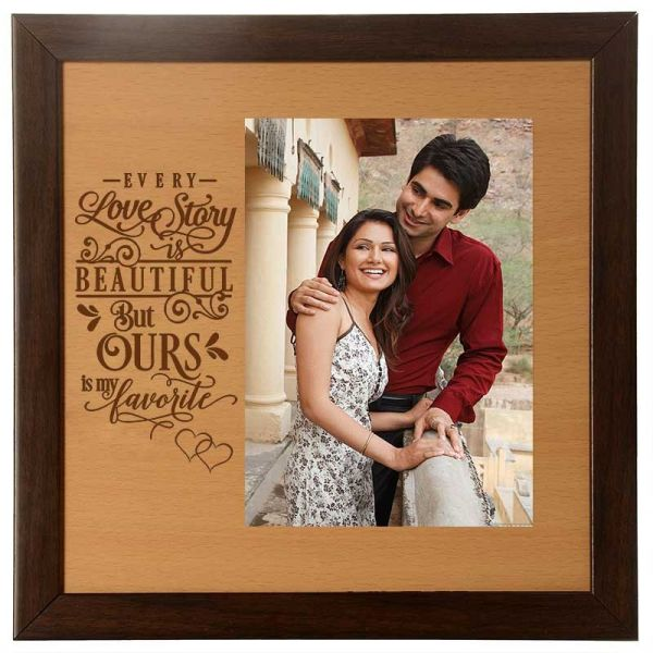 Photo Frame Love Story